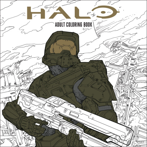 Halo: Adult Coloring Book
