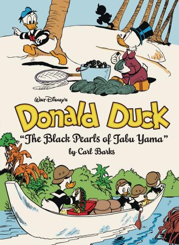 Walt Disney's Donald Duck Vol. 12: The Black Pearls of Tabu Yama
