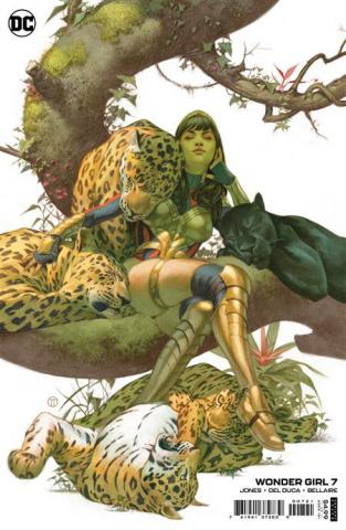 Wonder Girl #7 (Julian Totino Tedesco Card Stock Cover)