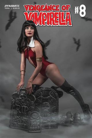 Vengeance of Vampirella #8 (Titan Cosplay Cover)