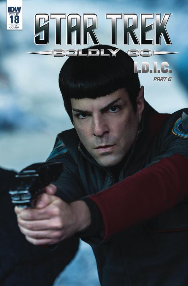 Star Trek: Boldly Go #18 (25 Copy Cover)