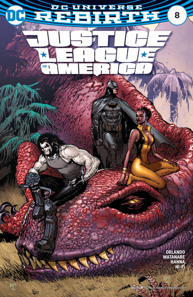 Justice League of America #8 (Variant Cover)