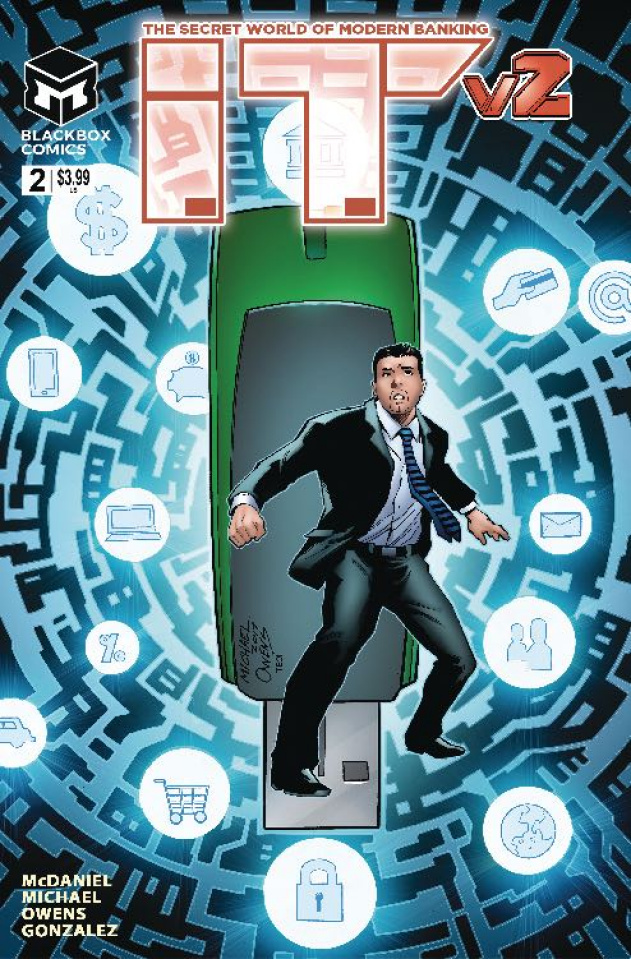 I.T.: The Secret World of Modern Banking 2 #2 (Michael Cover)