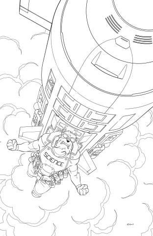Skybound X #3 (10 Copy B&W Walker Cover)