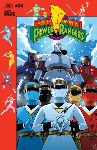 Mighty Morphin' Power Rangers #26 (Subscription Gibson Cover)