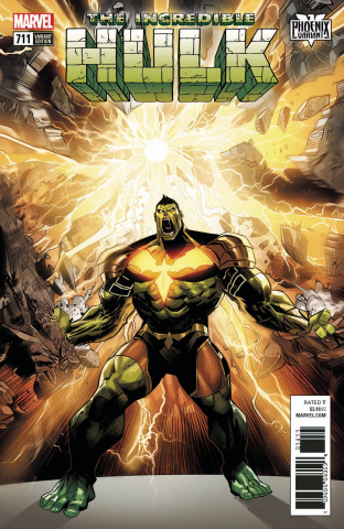 The Incredible Hulk #711 (Mora Phoenix Cover)