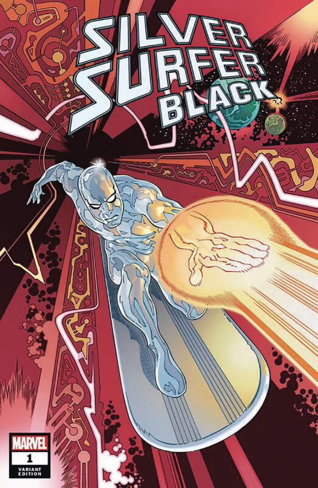 Silver Surfer: Black #1 (Rodriguez Cover)