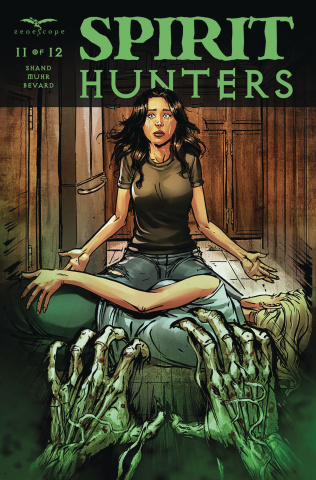 Spirit Hunters #11 (Leister Cover)