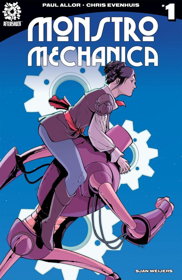 Monstro Mechanica #1 (Ariela Kristantina Cover)