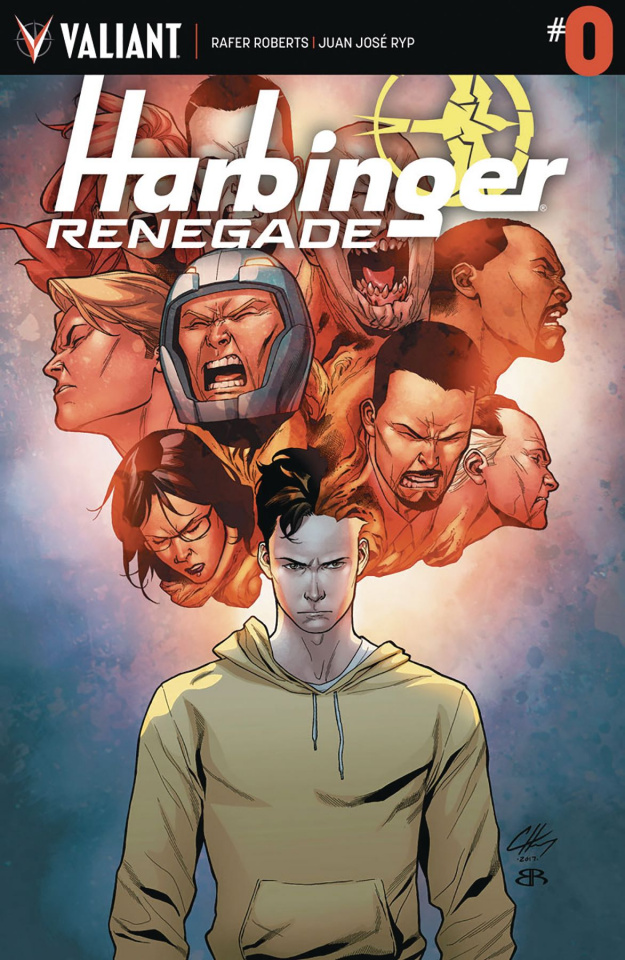 Harbinger: Renegade #0 (Clayton Cover)