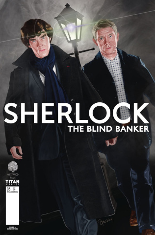 Sherlock: The Blind Banker #6 (Myers Cover)