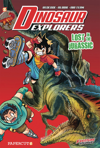 Dinosaur Explorers Vol. 5: Lost in the Jurassic