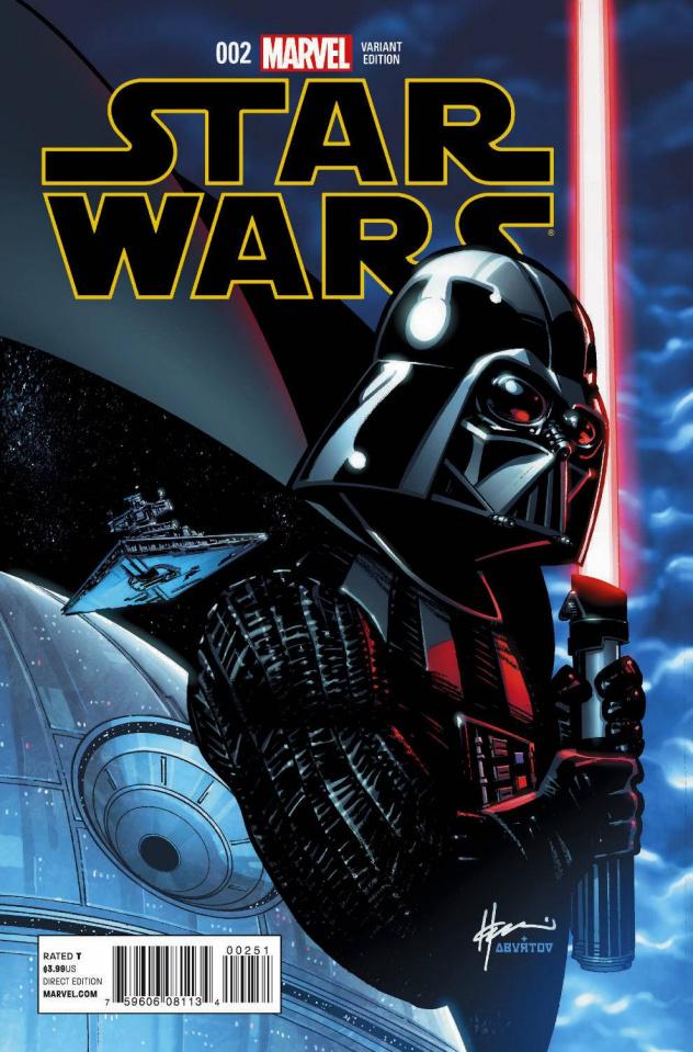 Star Wars #2 (Chaykin Cover)