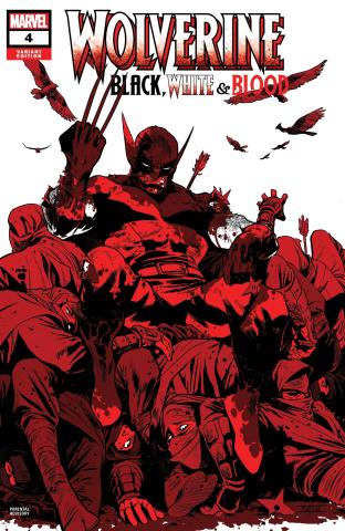 Wolverine: Black, White & Blood #4 (Asrar Cover)