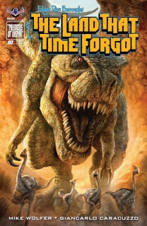 The Land That Time Forgot #2 (Painted Subscription Cover)