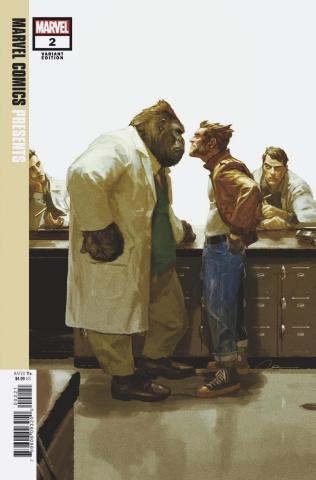 Marvel Comics Presents #2 (Parel Cover)