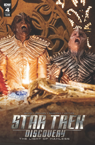 Star Trek: Discovery #4 (Photo Cover)