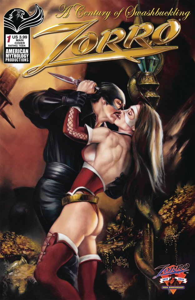 Zorro: A Century of Swashbuckling #1 (Bell Cover)