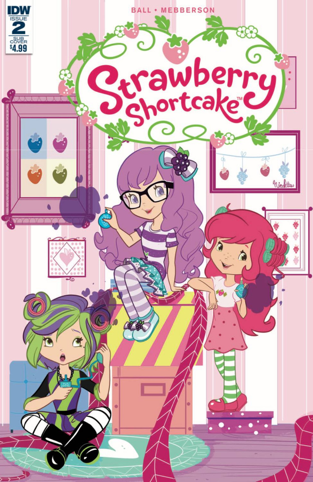 Strawberry Shortcake #2 (Scented Cover)
