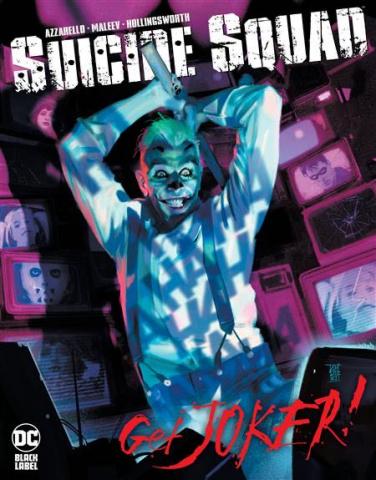 Suicide Squad: Get Joker! #1 (Alex Maleev Cover)