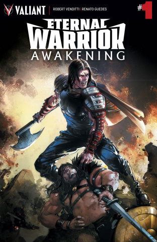 Eternal Warrior: Awakening #1 (Crain Cover)