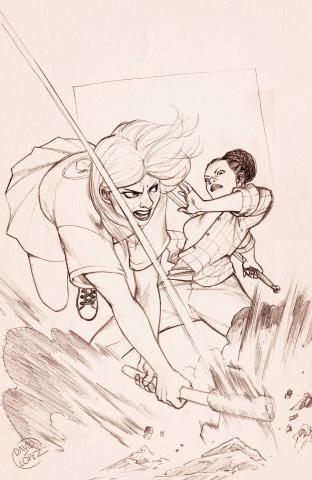 Buffy the Vampire Slayer #18 (25 Copy Lopez Cover)