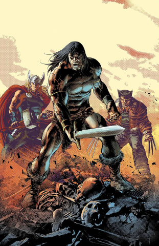 Savage Avengers #1 (Deodato Cover)