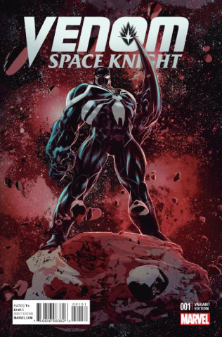 Venom: Space Knight #1 (Deodato Cover)