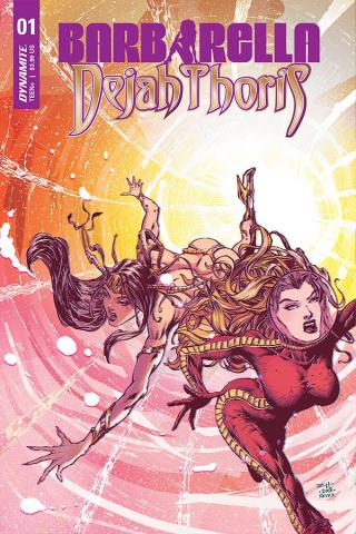Barbarella / Dejah Thoris #1 (Hsieh Cover)