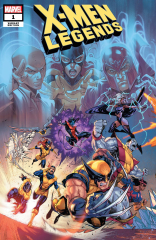 X-Men Legends #1 (Coello Connected Cover)