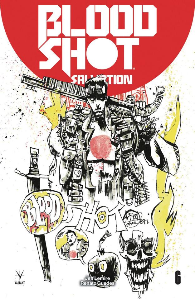 Bloodshot: Salvation #6 (50 Copy Mahfood Cover)