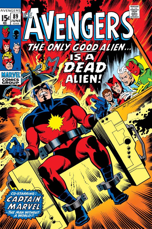 Captain Marvel: The Kree / Skrull War #1 (True Believers)
