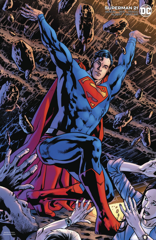 Superman #21 (Bryan Hitch Cover)