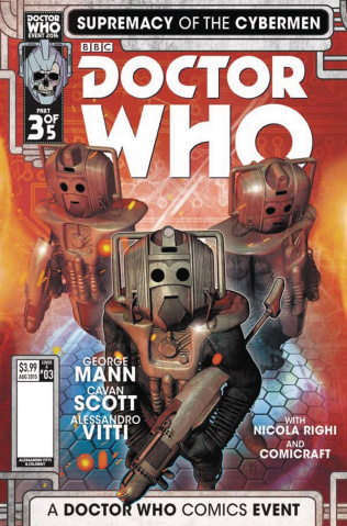 Doctor Who: Supremacy of the Cybermen #3 (Listran Cover)