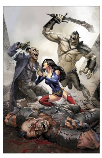 Grimm Fairy Tales: Realm War #5 (Miller Cover)