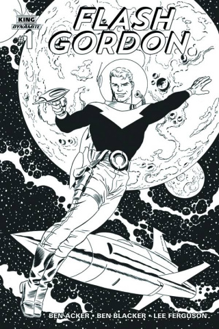 Flash Gordon #1 (10 Copy Cooke B&W Cover)