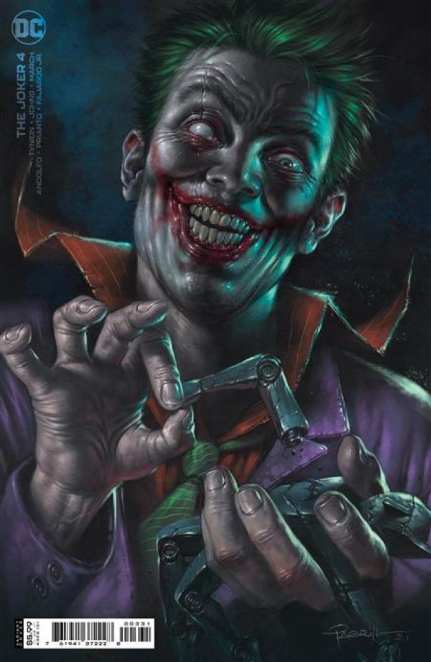 The Joker #4 (Lucio Parrillo Cover)