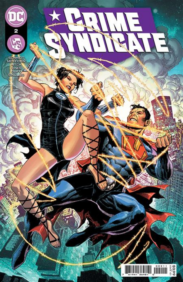 Crime Syndicate #2 (Jim Cheung Cover)