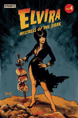 Elvira: Mistress of the Dark #4 (Hack Cover)