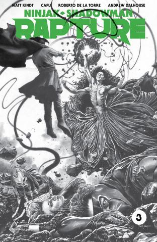 Rapture #3 (50 Copy B/W Sketch Suayan Cover)