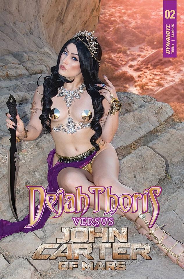 Dejah Thoris vs. John Carter of Mars #2 (Cosplay Cover)