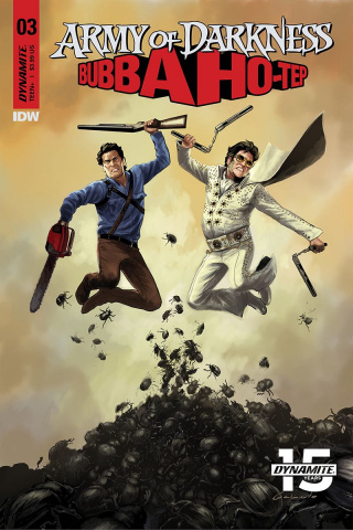 Army of Darkness / Bubba Ho-Tep #3 (Galindo Cover)