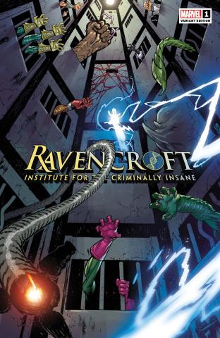 Ravencroft #1 (Jacinto Cover)