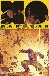 X-O Manowar #6 (20 Copy Interlock Boden Cover)