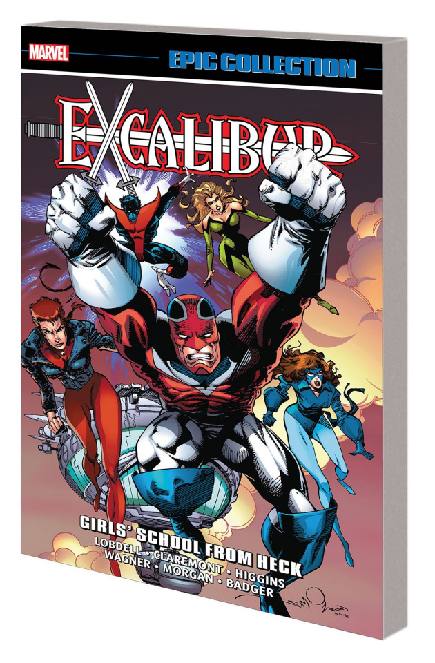 Excalibur: Girls' School From Heck (Epic Collection)