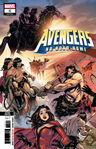 Avengers: No Road Home #6 (Izaakse 2nd Printing)