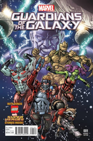 Marvel Universe: Guardians of the Galaxy #1 (Ryan Cover)