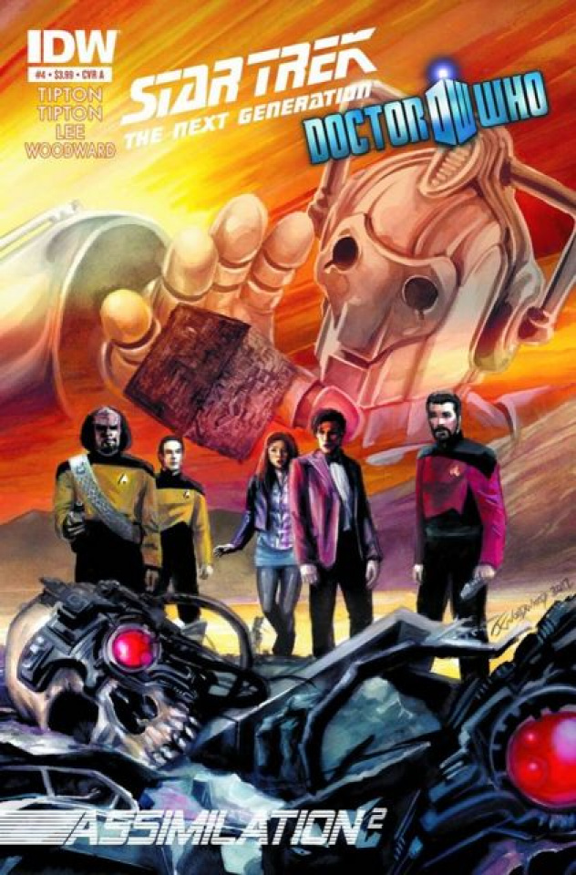 Star Trek: The Next Generation/Doctor Who - Assimilation #4