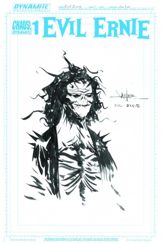 Evil Ernie #1 (50 Copy Lee Art Board Cover)