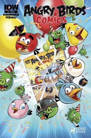 Angry Birds Comics #1 (10 Copy Cover)